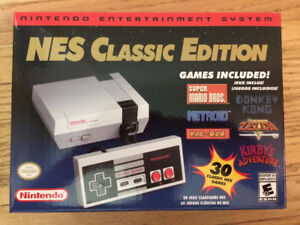 NES Classic Edition (Brand New Unopened) with Controller and Cab