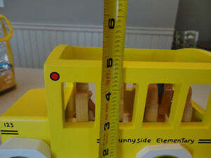 My Little School Bus Wooden Magnetic Toy by Jack Rabbit Creation Kitchener / Waterloo Kitchener Area image 4