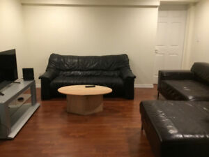 Shared furnished basement suites for rent - 2 rooms available