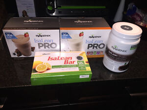 Isagenix protein canister, packets, and bars (unopened) Peterborough Peterborough Area image 1
