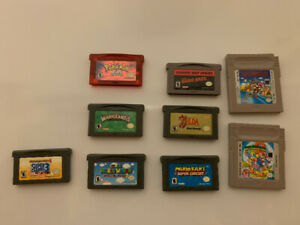 Gameboy Color/Advance Games