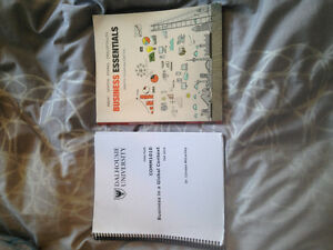 Business in a global context books for Dal COMM 1010