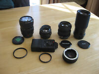 Pentax lenses and accessories
