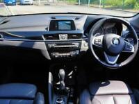 2017 BMW X1 Bmw X1 xDrive 20d 2.0 xLine 5dr Auto 4WD Leather Sun Protection Glas