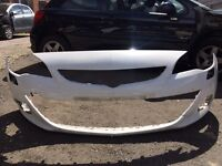 Vauxhall Astra gtc 2012 2013 2014 genuine front bumper for sale