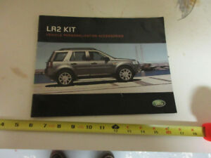 2007 LAND ROVER LR2 KIT BROCHURE