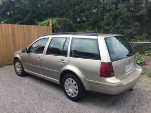 2005 Volkswagen Jetta Wagon, Manual Safety and E test done