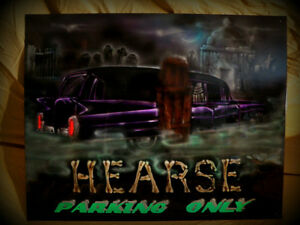 Hearse Parking Only! What do you have to trade?