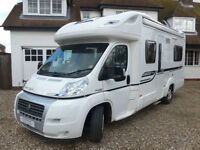 Bessacarr E660 Low Line 4 berth 4 Travelling seats, 4 belts, fixed rear Bed TV