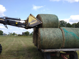 Clamp on Round Bale spear