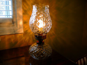 Beautiful Waterford Vintage Crystal Lamps + Bohemia Crystal Vase Windsor Region Ontario image 3