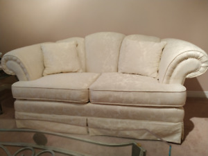 Love Seat and Wing Chair