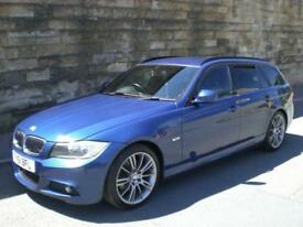 2011 61 BMW 3 SERIES 2.0 320D SPORT PLUS EDITION TOURING 5D 181 BHP DIESEL