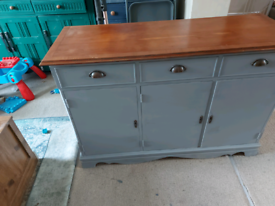 Upcycled 1950s sideboard