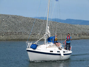 Fully Fitted Tanzer 26' Sailboat for Sale St. John's Newfoundland image 2