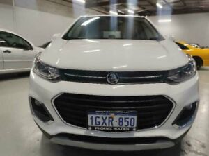 2018 Holden Trax TJ MY18 LTZ White 6 Speed Automatic Wagon Mitchell Gungahlin Area Preview