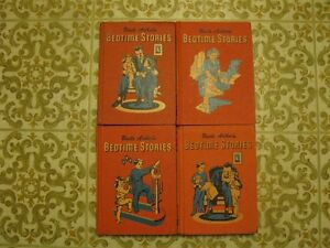 ORANGE BEDTIME STORIES, 1950 Edition.  2, 4, 5 & 6 vol sets