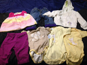 Girl's Baby Clothes - 18 Months