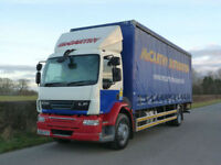 DAF LF 55 220 4 X 2 Curtainsider with Tuck Away Tail Lift