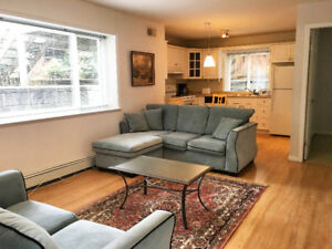2 Bedroom-Furnished Basement Suite in Upper Lonsdale, North Vanc