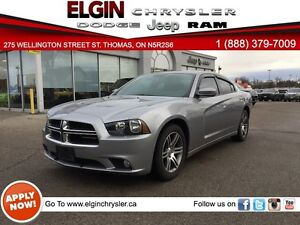 2014 Dodge Charger SXT***Sunroof,Htd Seats,Low Kms*** London Ontario image 1