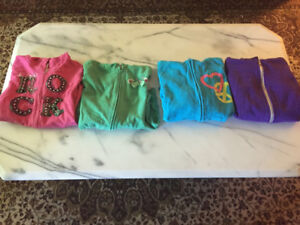 GIRL'S HOODIES SIZE 12-14 ONLY $5.00