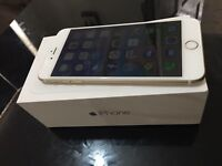 Apple iPhone 6 plus gold 128gb unlocked all networks brand new conditions