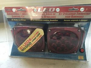 Submersible tailights for trailer