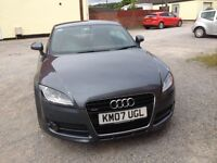 Audi TT 3.2 Quattro Dolphin Grey with red leather