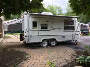 HYBRID CAMPING TRAILER FOR SALE!