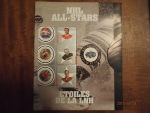 2001 NHL All-Star Stamps