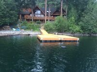 Floating Cedar Docks
