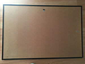Free: Sturdy Pressboard Frame backing with optional poster