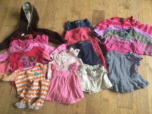 Girls 12-24 months lot