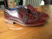 Mens Size 8 Brogue Shoes
