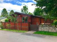 Pinelog Cabin lodge for sale Lowther Park Penrith Ullswater Lake District