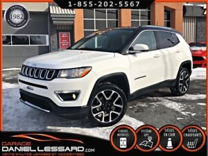 Jeep Compass LIMITED, CUIR, GPS, CAM  RECUL, A VOIR 2017