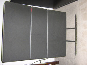 Bang&Olufsen speakers and stands