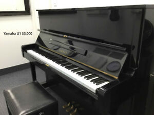 Music School Selling 6 Pianos - Don't Be Afraid!  Take A Look