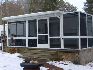 Salem LE Trailer 36 foot two tip outs screened porch