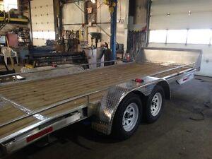 All Alumium Car Tailer 8x20