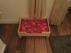 Bespoke Pine Dog bed NEW