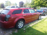 Trade my 2005 dodge magnum sxt trade for john deere lawn tractor