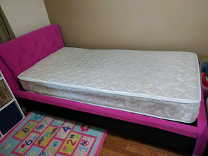 Free twin mattress and bed frame