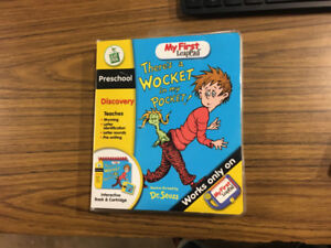 my first leap pad there's a wocket in my pocket preschool