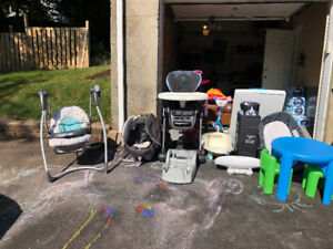 Lots of baby items for sale!