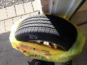 4x Bridgestone Potenza RE97AS P225/55/RF17 Run Flat Tires