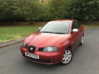 SEAT IBIZA SPORT TDi DIESEL --- FULL SERVICE HISTORY --- MOT --- FREE DELIVERY --- P/X WELCOME