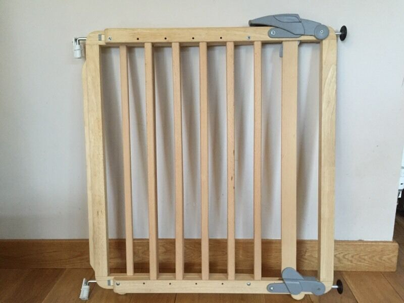 Mamas And Papas Natural Wood Extending Stair Gate Stairgate