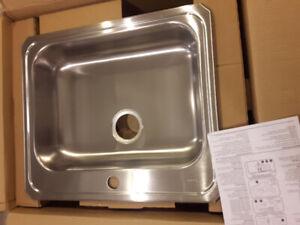 Elkay single bay sink